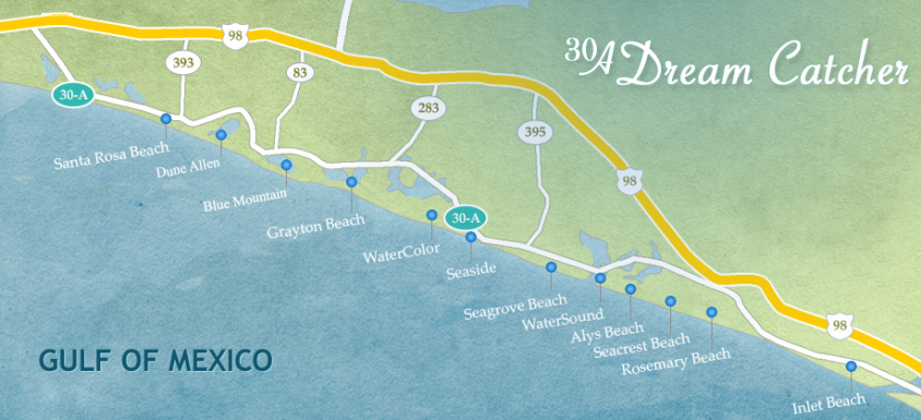 30a Real Estate Map