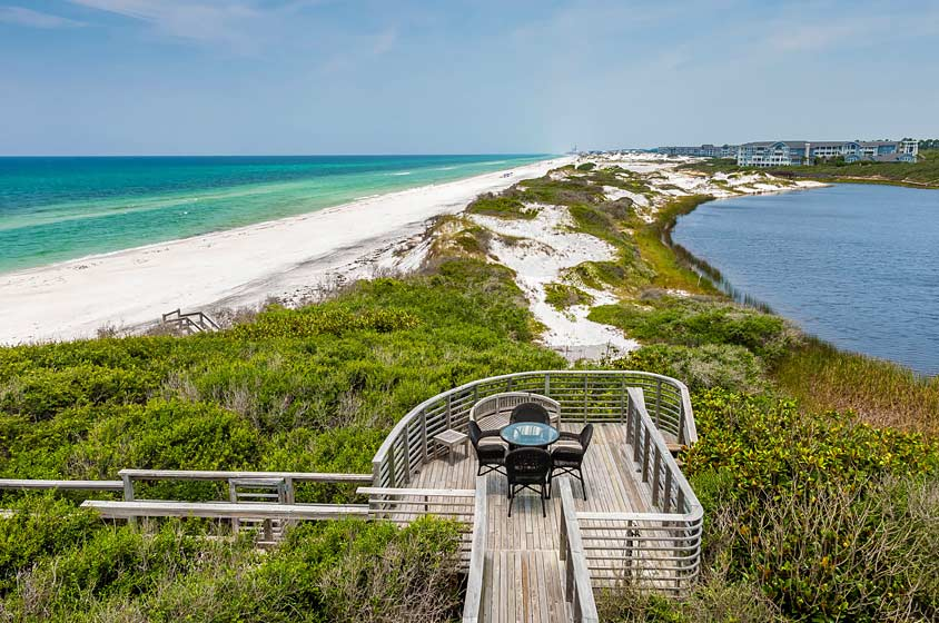 Santa Rosa Beach Florida Homes On Gulf Coasthistoric Is A Clic Town The Emerald Coast Of Panhandle Along Highway
